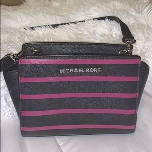 Michael Kors Selma Saffiano Leather Crossbody Bag